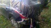 Форд фокус хэтчбэк черный,  2012 год. Битый.